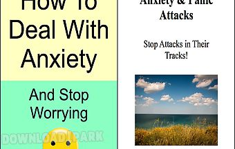 How to deal with anxiety and sto..