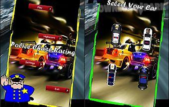 Police chase racing rush