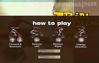 Trial xtreme moto