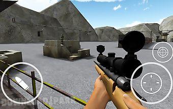 Army sniper assassin shot