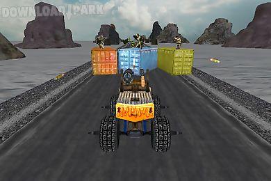 crazy monster truck fighter 3d