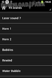dancehall sound effects