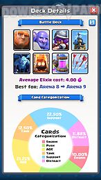 deck advisor for cr