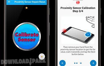 Proximity sensor reset/repair