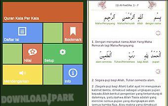 Quran kata per kata