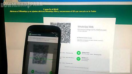 Tablet whats web Android Aplicaçõe Baixar grátis em Apk