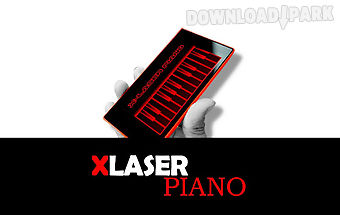 X-laser piano simulated