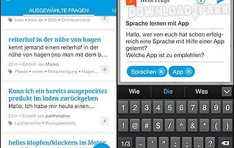 Gutefrage.net die ratgeber-app