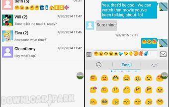 Handcent emoji