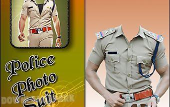 Policeman photo suit