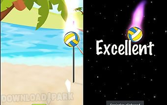 Sonic volleyball beach