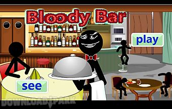 Stickman bloody bar