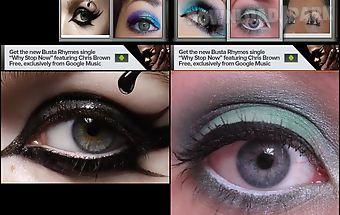 Eye makeup idea book