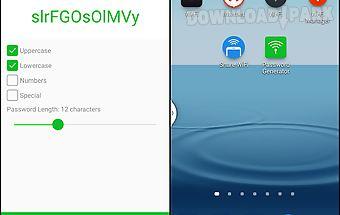 Osmino:wifi password generator