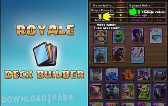 Royale deck builder