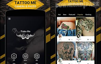 Tattoo me camera- tattoo photo