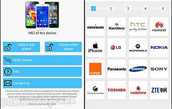 Unlock your phone - instant