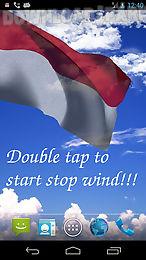 3d indonesia flag lwp