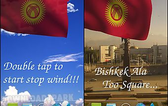 3d kyrgyzstan flag lwp