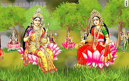 4d lakshmi live wallpaper