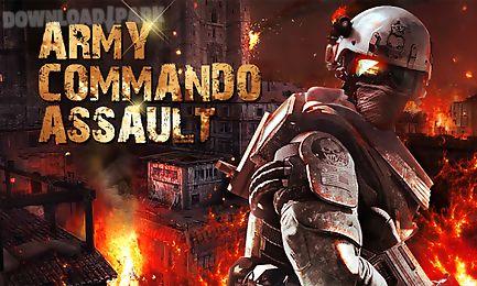 army commando assault