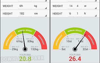 Bmi weight calculator
