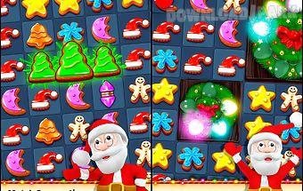 Christmas cookie - fun match 3