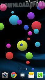 colorful bubble live wallpaper