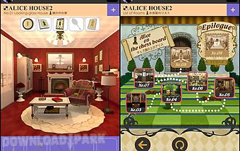Escape alice house2