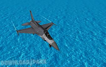 Fly airplane f18 fighters 3d