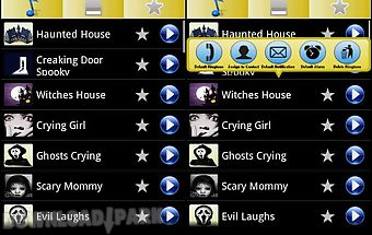 Horror ringtones