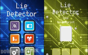 Lie detector simulator for fun