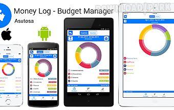 Money log free budget manager