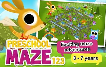 Preschool maze for kids free