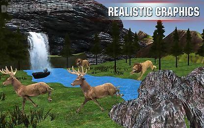 stag deer hunting 3d