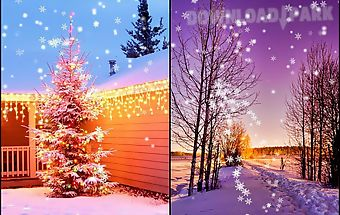 Winter snow live wallpaperhd