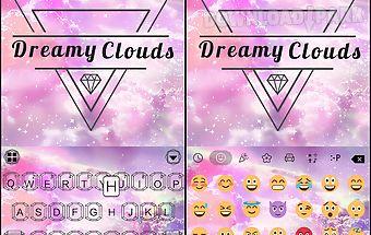 Dreamy💎clouds keyboard theme