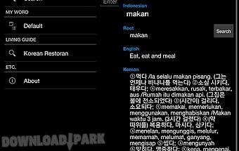 Indonesian-korean kamus deh