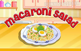 Macaroni salad cooking