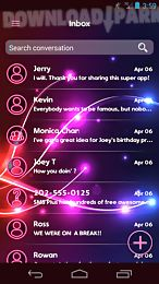neon colors sms