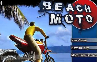 Beach racing moto
