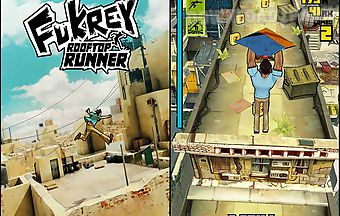 Fukrey: rooftop runner