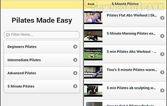Pilates made easy