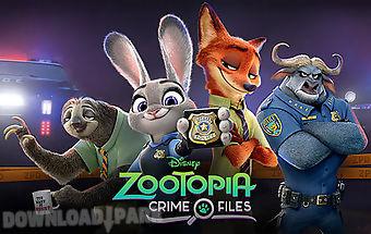 Disney. zootopia: crime files