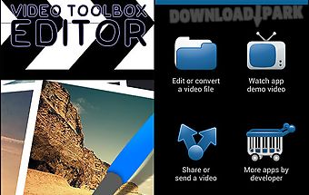 Video toolbox editor