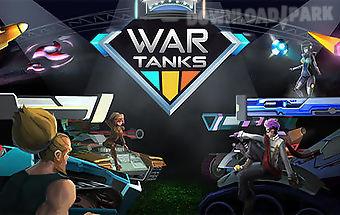 War tanks: multiplayer game
