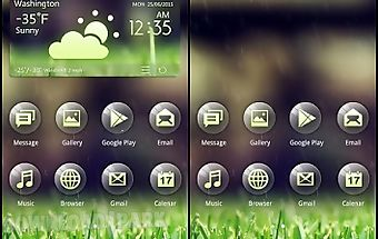(free) green 2 in 1 theme