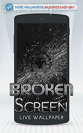 broken screen live wallpaper