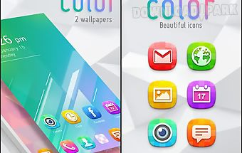 Color go launcher theme