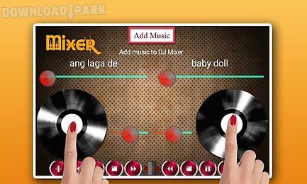 Dj Virtual Studio Music Mixer Android Anwendung Kostenlose